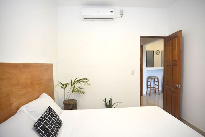 Second Bedroom with aircon