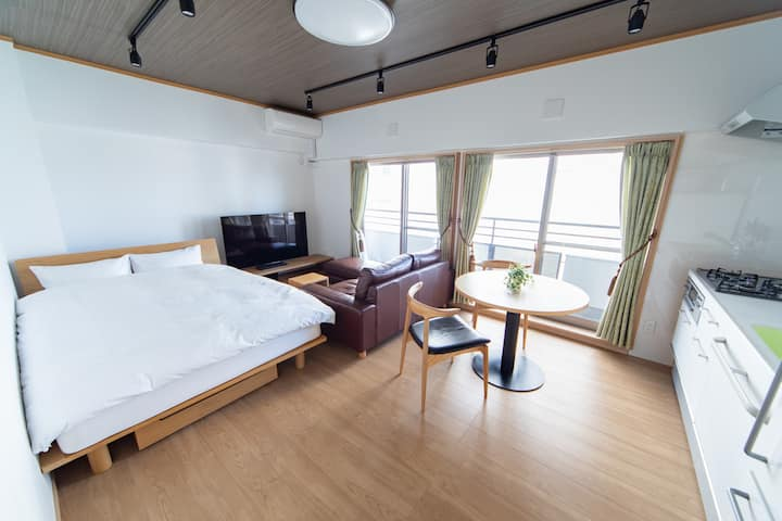 NIYS apartments Best location/quiet and calm room☆