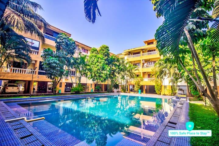 Majestic Apatite 2BHK Apartment(Pool)100%Sanitized