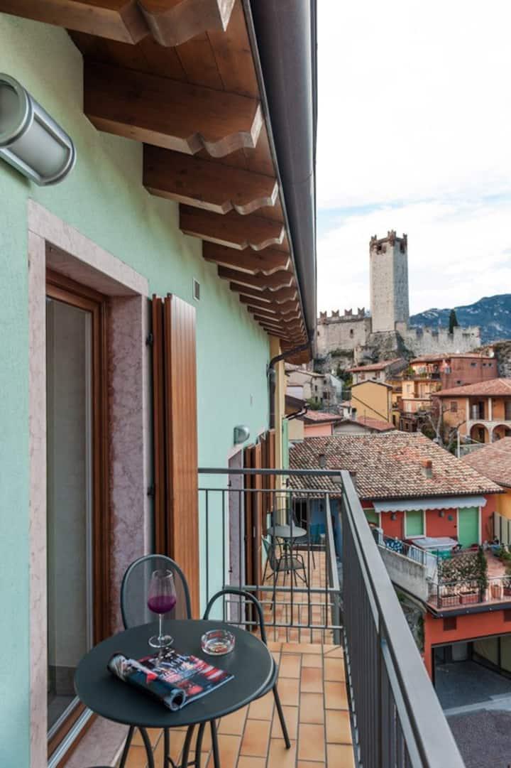 Casa Vacanze Lucia - Bilo  vista lago con balcone