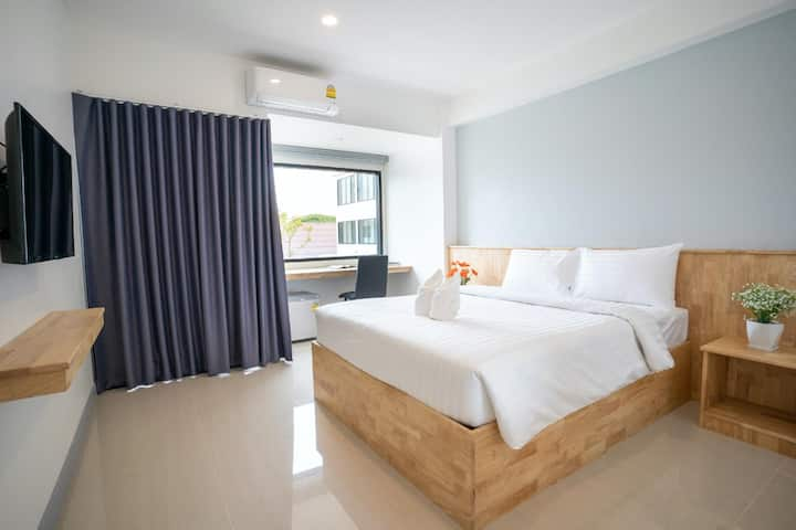Minimalist Superior Double Room @ Meesuk ChiangRai
