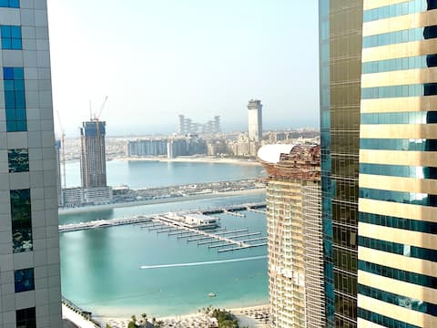 2 BR With Partial Sea View in Torch Tower Dubai