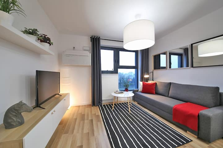 A modern apartment in a great location