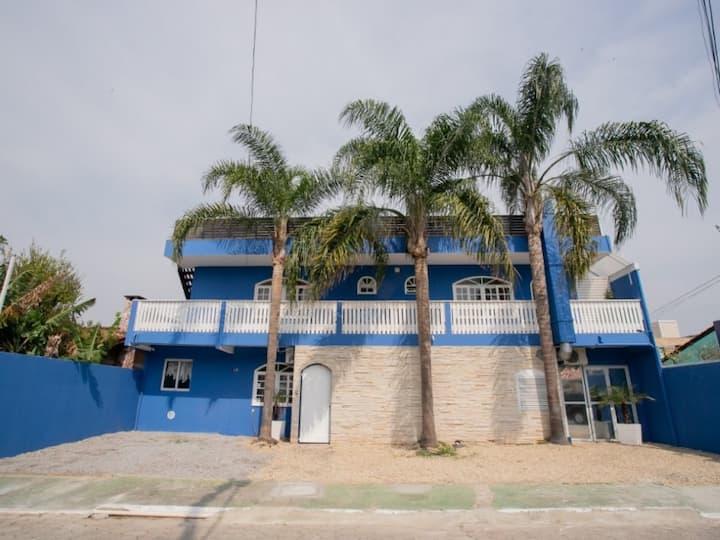 Acomodação com BWC privativo na Lagoa - Fpolis