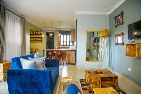 Amari- 2 bedroom Apartment (ensuite)+garden