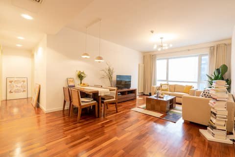 Private room with gorgeous view 世贸天阶 | 国贸 CBD/新城国际