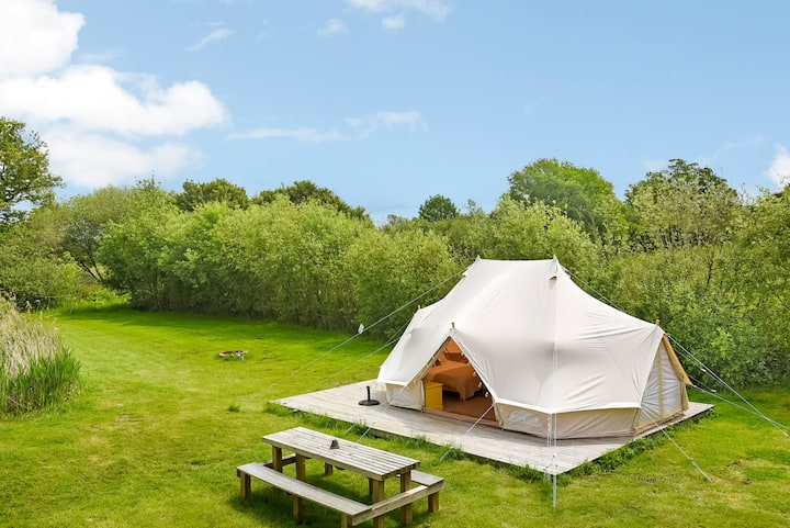 Buttercup Bell Tent @ Longberry Farm