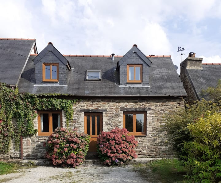 Tranquil & Traditional, Breton Country Cottage