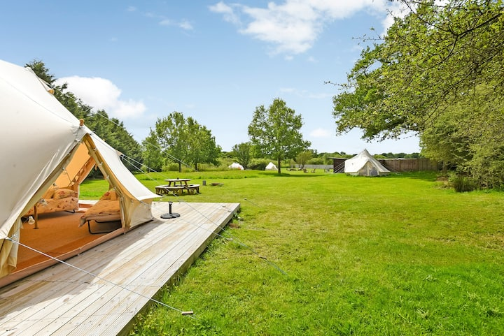 Mayflower Bell Tent @ Longberry Farm
