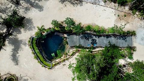 Villa Xnuuk @Nuuku🌿Private Cenote Daily Breakfast