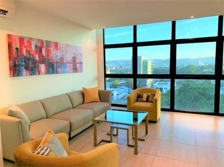Exclusivo apartamento completamente equipado