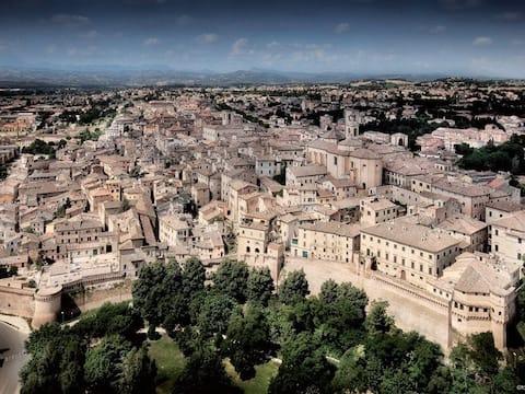 Unique quietness in the historic city-centre