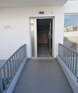 Access to building.