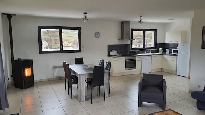 Appartement tout confort au milieu de la Margeride