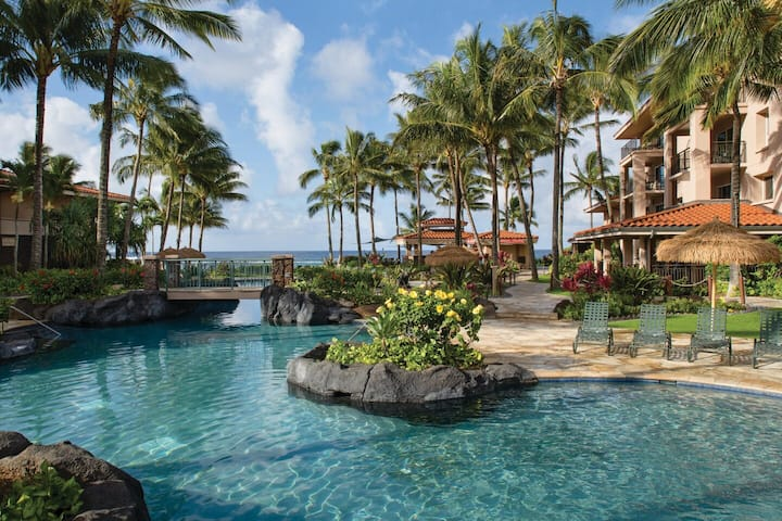 Marriott Waiohai Beach Club Resort - 2 BR Sleeps 8