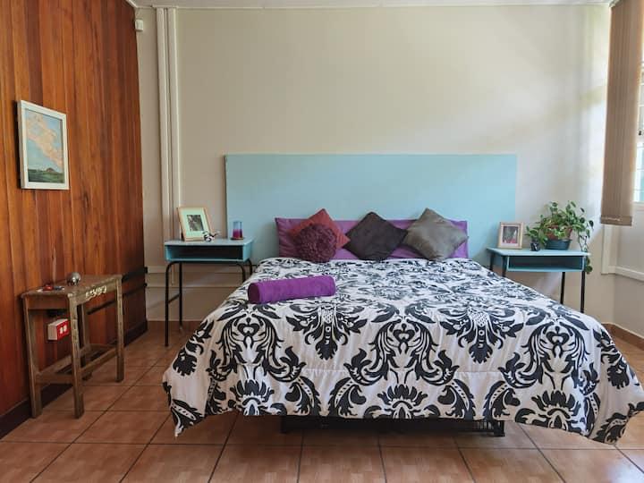 work remote,2 bedroom free parking, large bathroom
