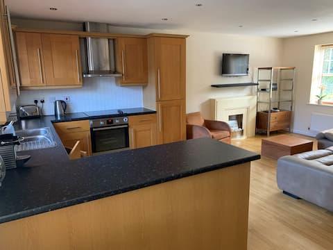 Modern flat in Stratford upon Avon