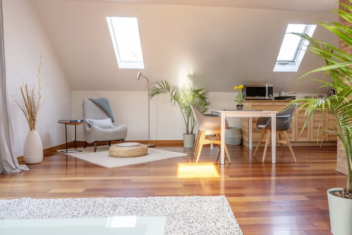 NEW Bright Zen suite in the heart of town