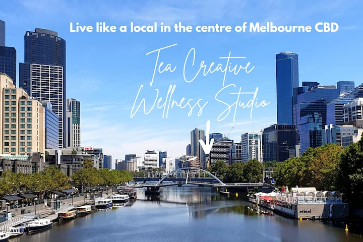 Tea Creative Wellness Studio in Melbourne CBD