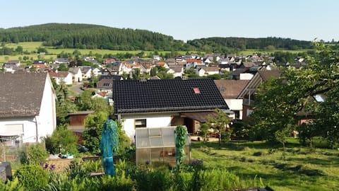 Wohnung im Lahn-Dill-Bergland - ruhig gelegen