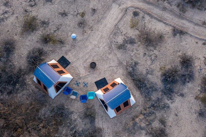 Colima Campsite (Two Tents @ Big Bend Glamping)