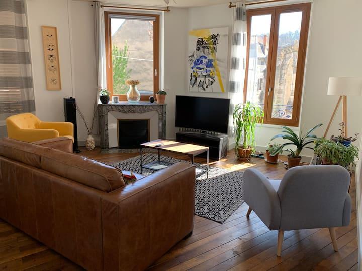 Très bel appartement trendy - 105 m2 Cusset centre