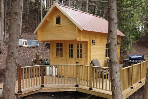 Nature Lover's Paradise: Off the Grid Bunkie