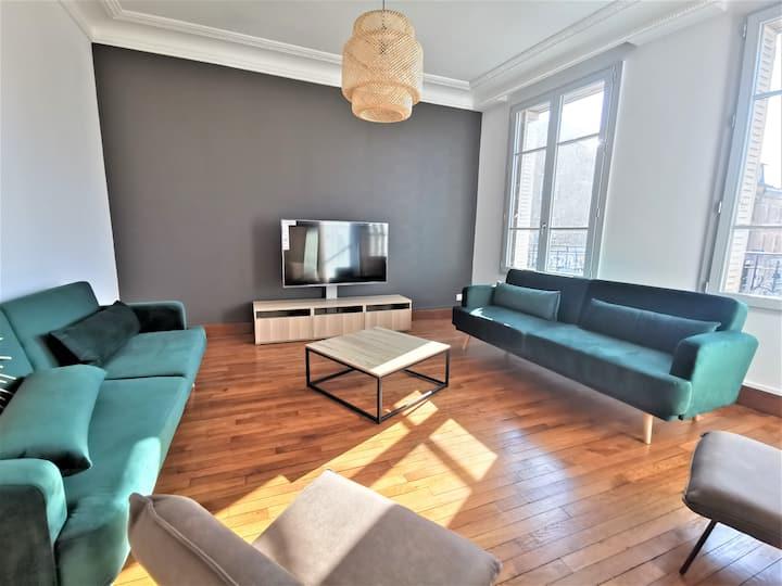 Maison centre-ville 5 ch + studio indépendant