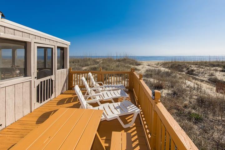 Seaside Oasis OCEANFRONT BEACH HOUSE