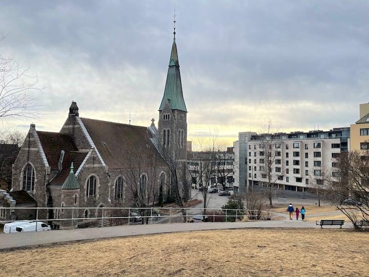 Fin leilighet sentralt i Oslo. Bislett.