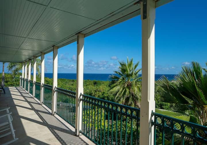 Caribbean View with Pool & Plenty of Island Charm
