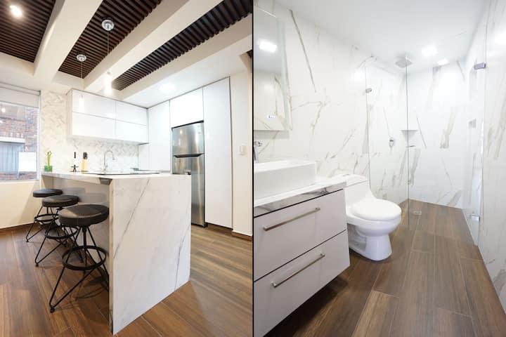 Luxury One Bedroom ⭐ Near Parque 93 🔥