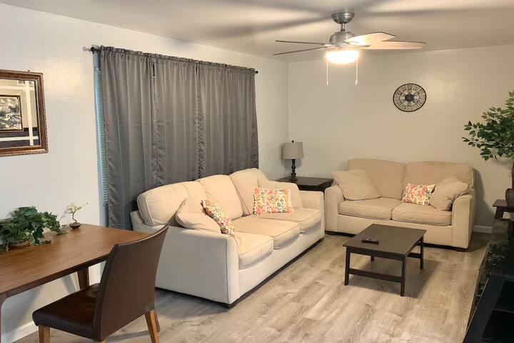 Beautiful 2 Bedroom Apartment near City of Modesto