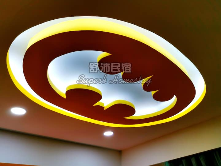 Superb Justice League Theme Sutera Avenue (2BR)