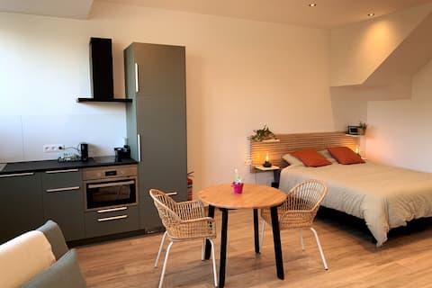 舒适的单间公寓-距离法格尼斯( Fagnes )和弗朗索瓦山( Francorchamps ) 15分钟