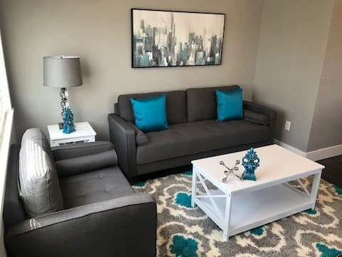 Lovely Modern Space -Teal