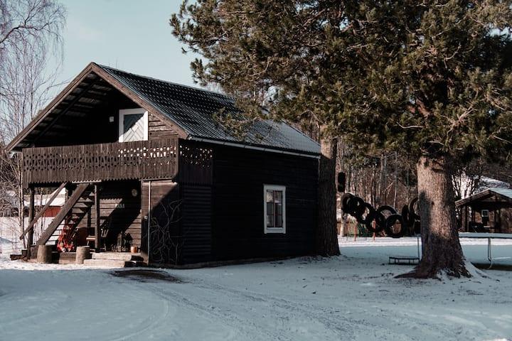 Family cottage in Råda Hotel