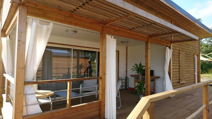 Chalet n°14 dans parc résidentiel Casa Lenha