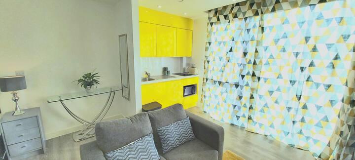 Charming 1 Bed Studio Flat Apartment + Netflix