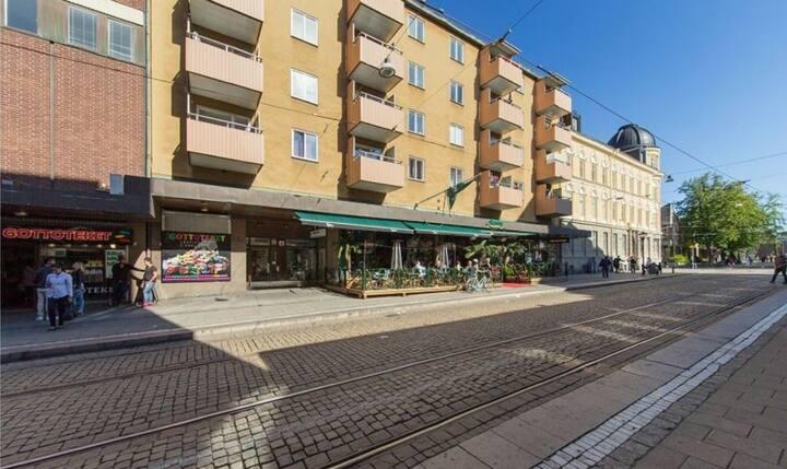 Rymlig lägenhet i  Norrköping City