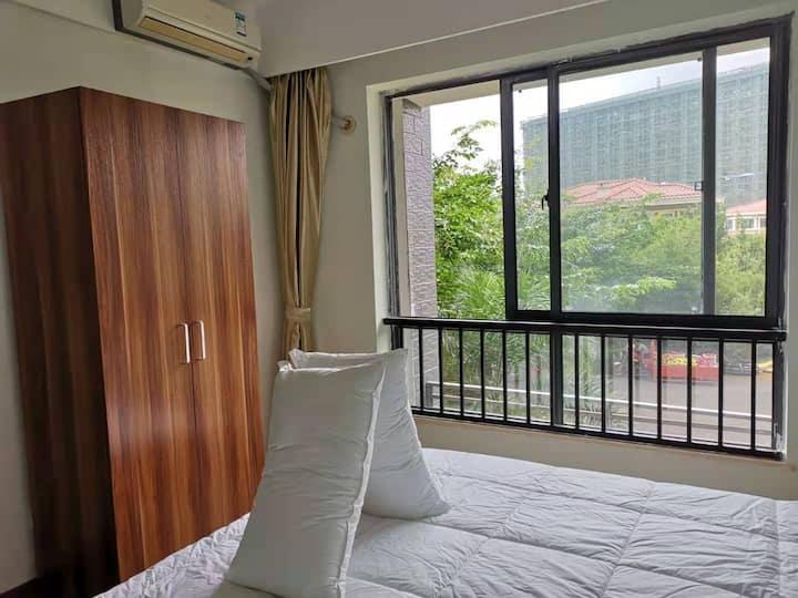 澄迈/福山/台湾风情小镇/一居/一室一厅一卫/带厨房