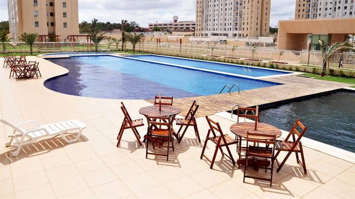 Apartment in condominium club Calhau