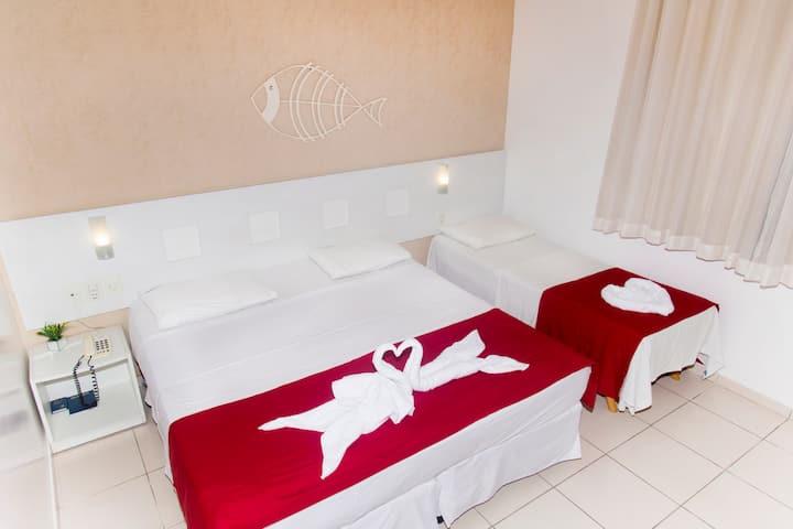 Barbada lindo quarto com localização privilegiada