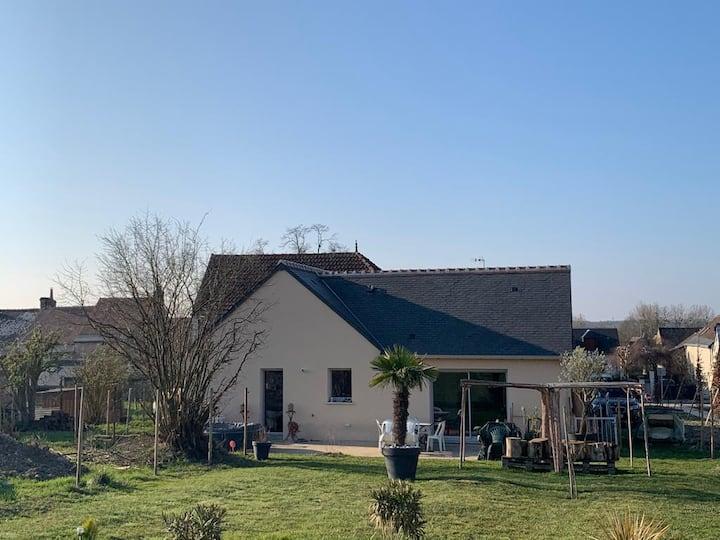 Maison contemporaine au cœur des vignes