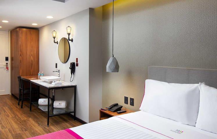Habitaciones pensadas 100% en tu comodidad, para disfrutar de la mejor experiencia a un buen precio (todas nuestras imágenes son meramente ilustrativas)