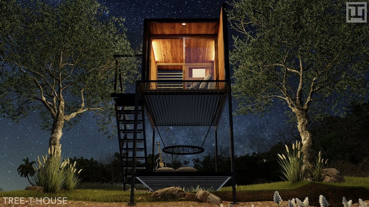 Experience & Enjoy a Dream Tree-House by the Lake!