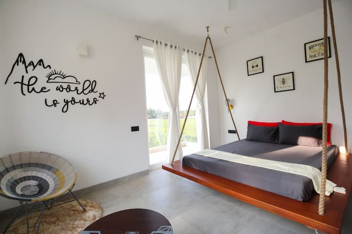 We provide you with unique bed design, feel like sleeping above the ground.