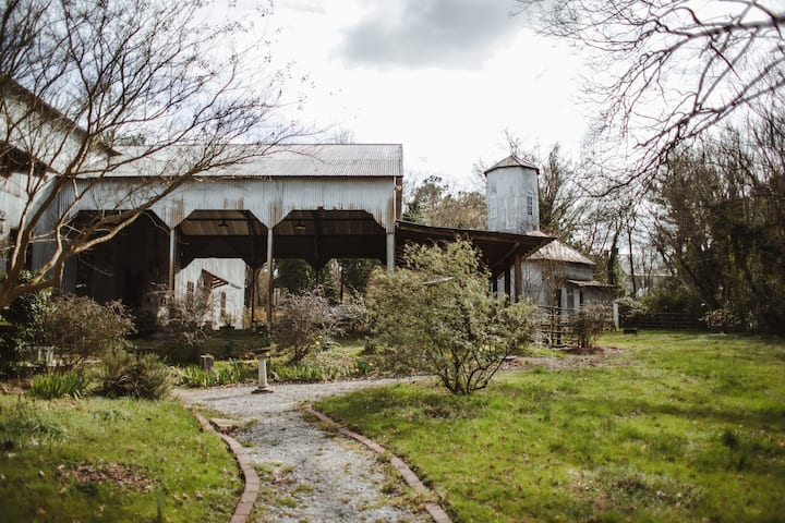 The Seed House: Renovated Octagonal Barn, A Real ♢