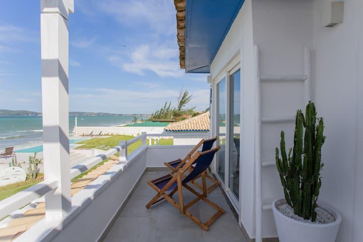 Apartamento de frente para o mar em Búzios