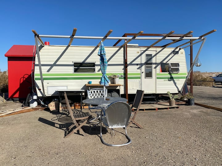 Vintage Trailer Glampground@monopoly Bombay Beach